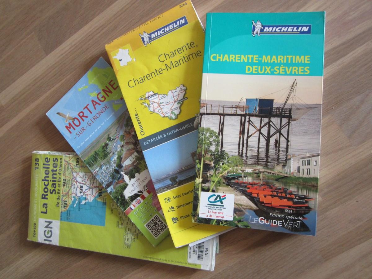 kaarten en info Charente-Maritime