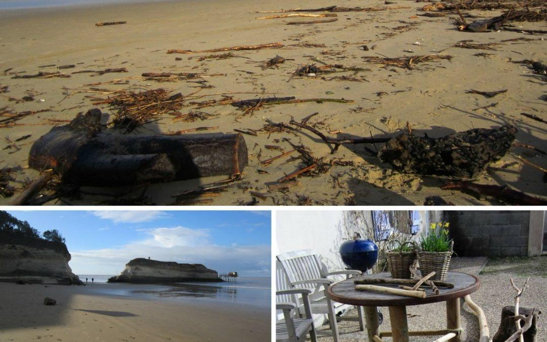 Strandjutten bij Meschers sur Gironde