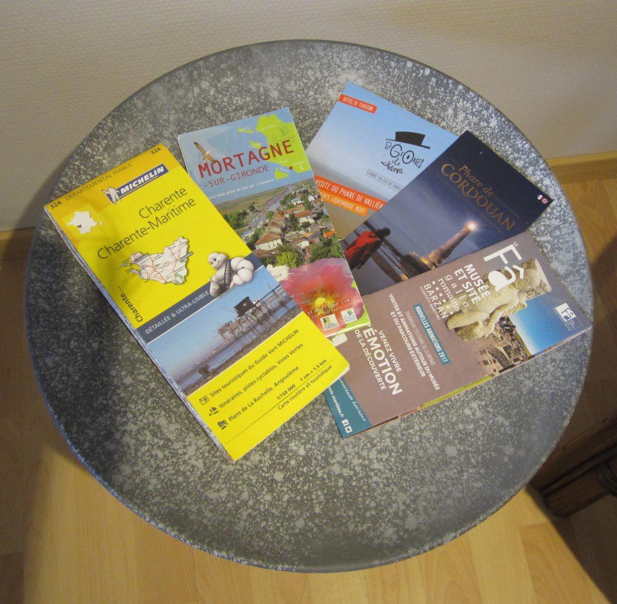 folders en kaarten Charente-Maritime