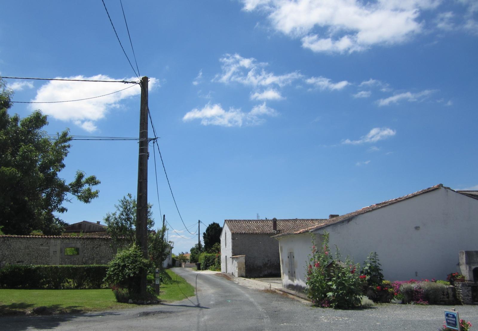 Vakantiewoning 2-6 po met uitzicht Le Petit Chenac Charente Maritme