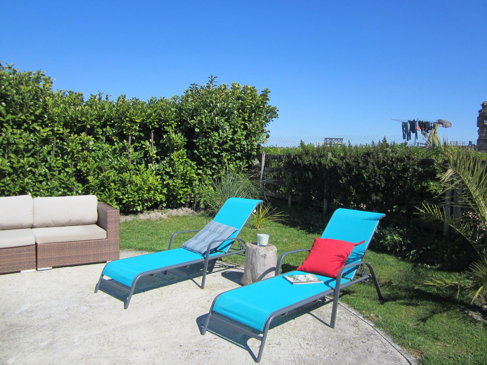 zonnebaden in de Charente Maritime bij Le Petit Chenac Gites
