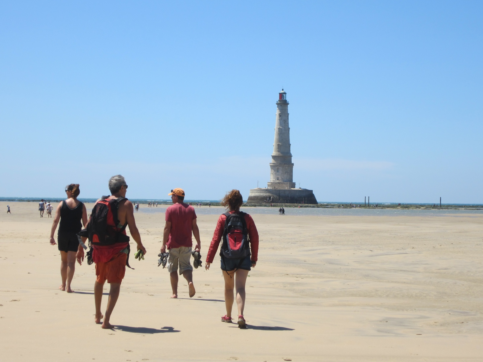 Phare le Cordouan wandeling na boottocht